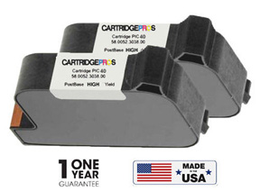 PIC40 Ink Cartridge Set for FP PostBase #58.0052.3028.00 , 58.0052.3038.00
